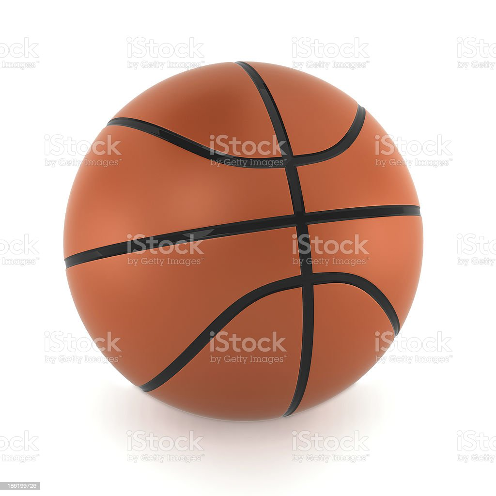 Basketball ball royalty-free stock photo