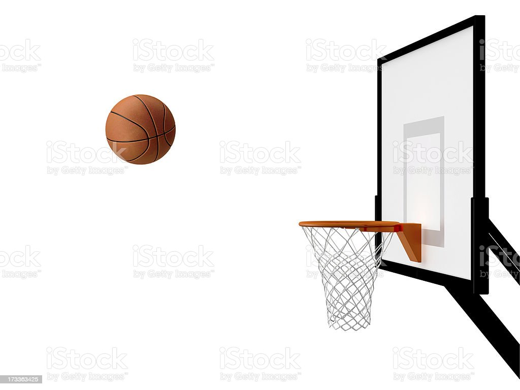 Basketball Basket stock photo