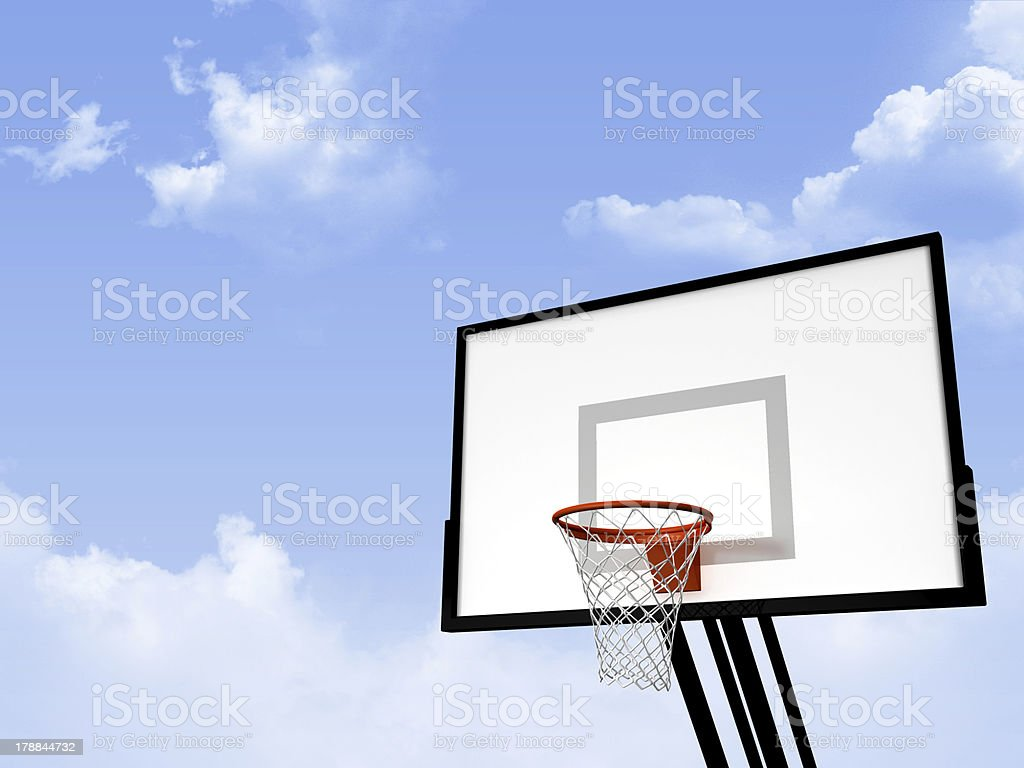 Basketball Basket royalty-free stock photo