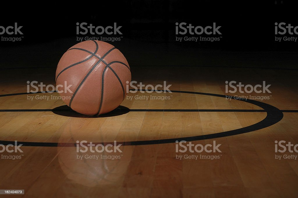 Basketball Beauty stock photo