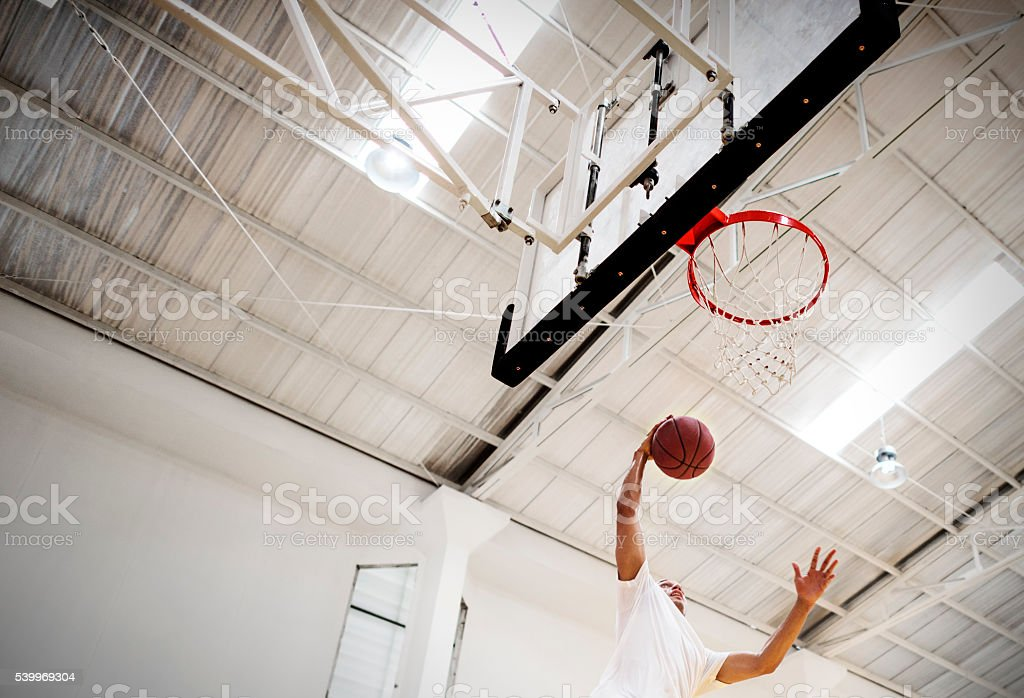 Basketball Bounce Competition Exercise Player Concept stock photo