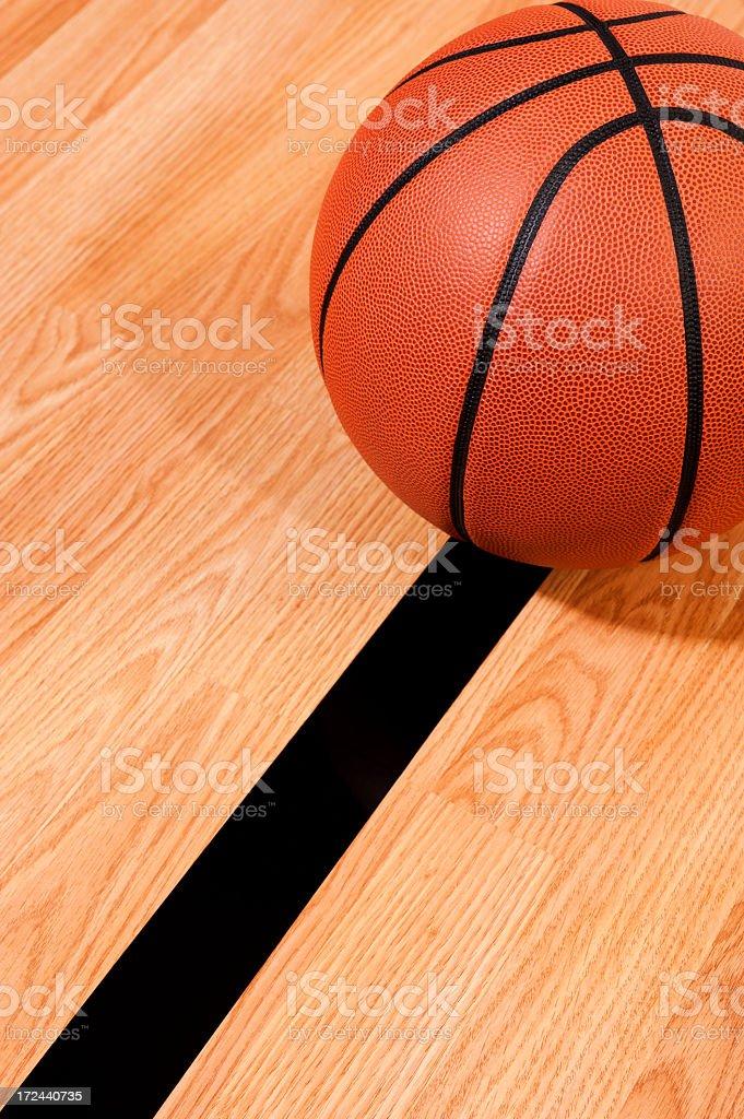 Basketball Center Court royalty-free stock photo