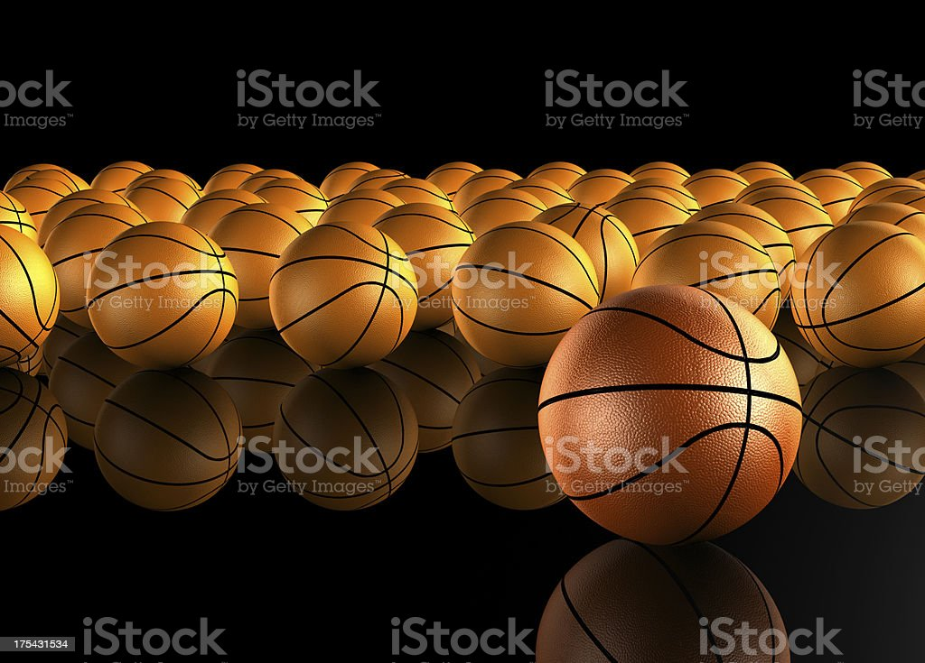 Basketball champion royalty-free stock photo