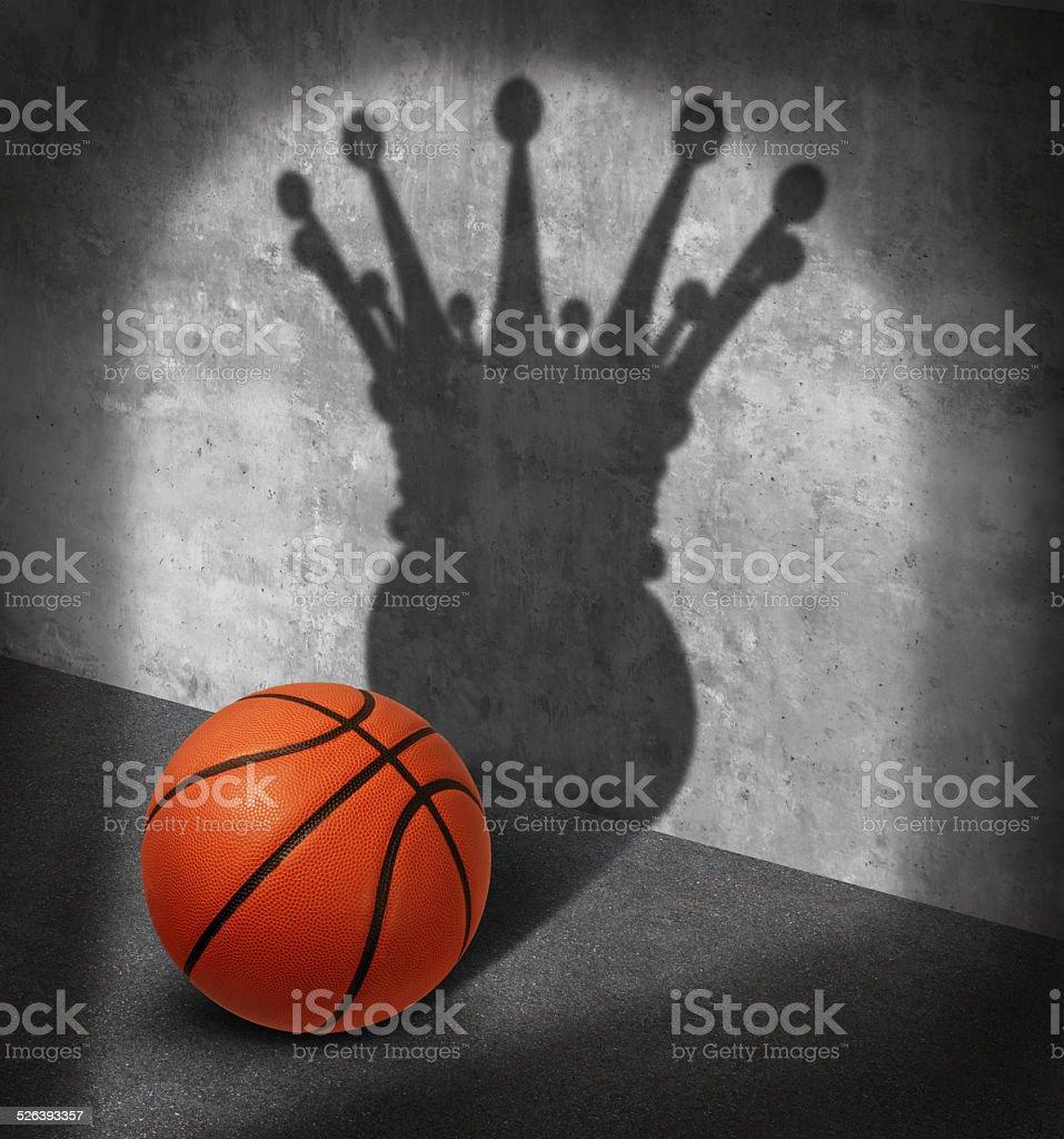Basketball Champion stock photo