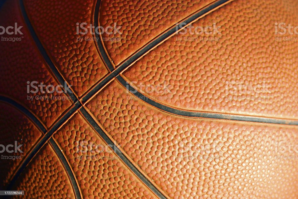 Basketball Close stock photo