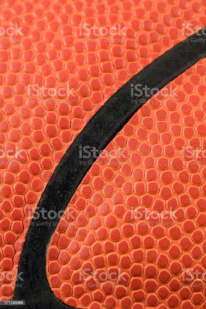 Basketball Close-Up royalty-free stock photo