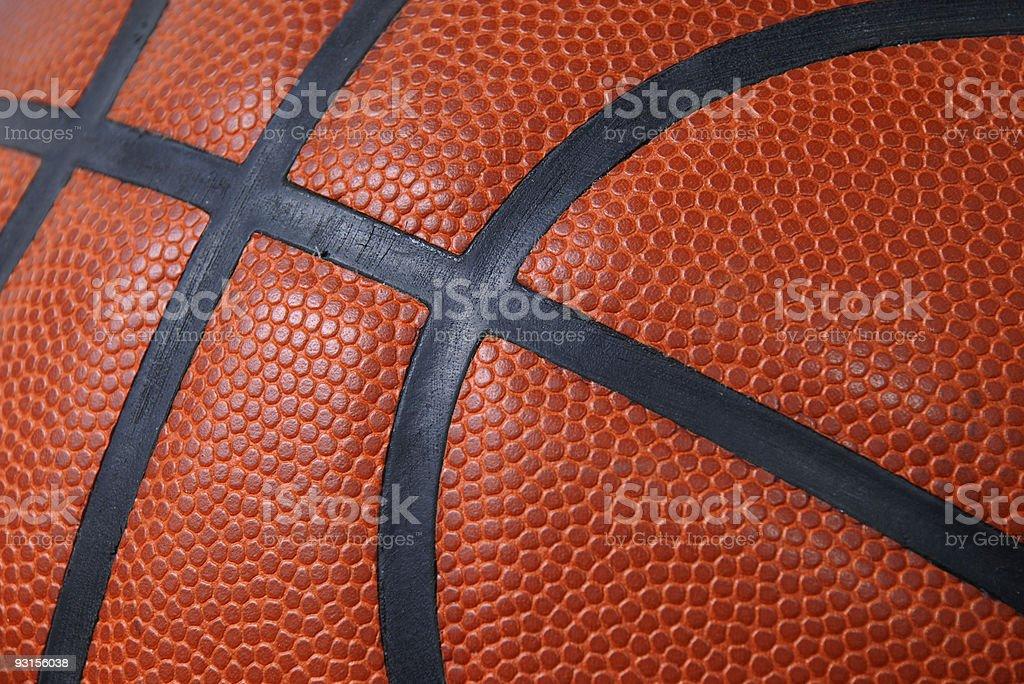 Basketball Close-up stock photo