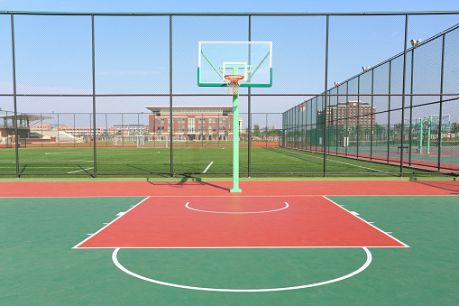 Basketball Court Pictures Images And Stock Photos Istock