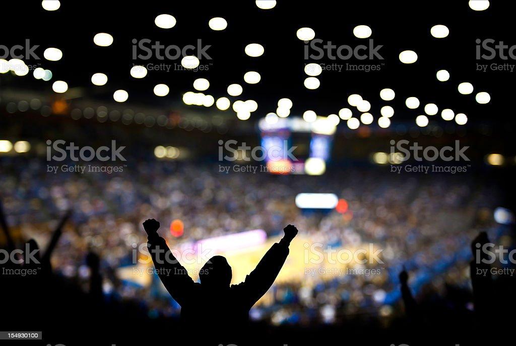 Basketball Excitement stock photo