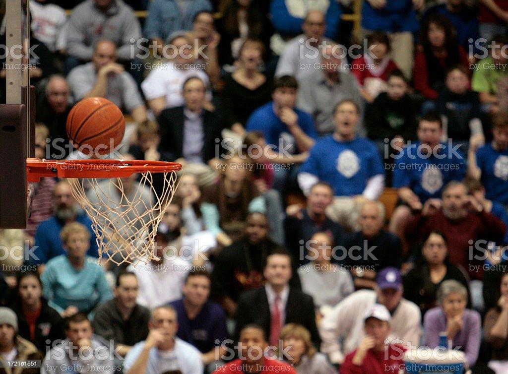 Basketball Fans II stock photo