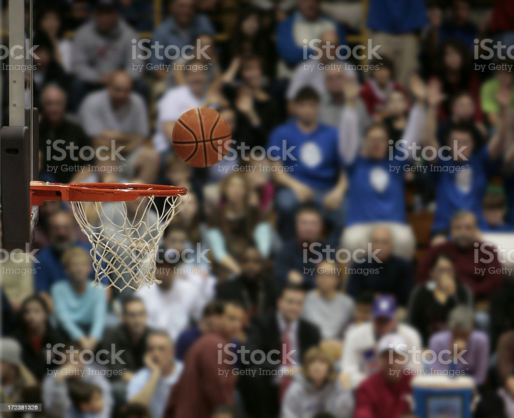 Basketball Fans III stock photo