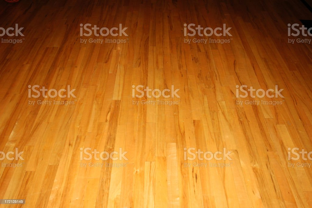 Basketball Floor royalty-free stock photo