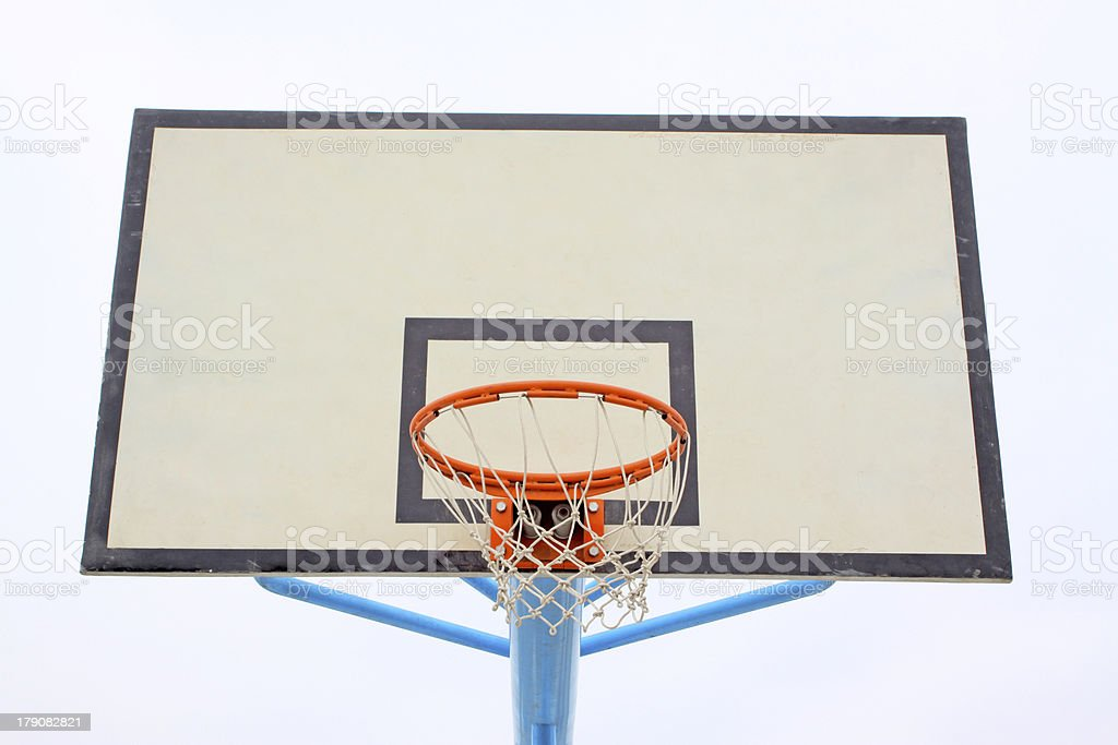 basketball frame royalty-free stock photo