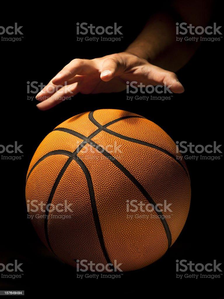 Basketball free throw royalty-free stock photo