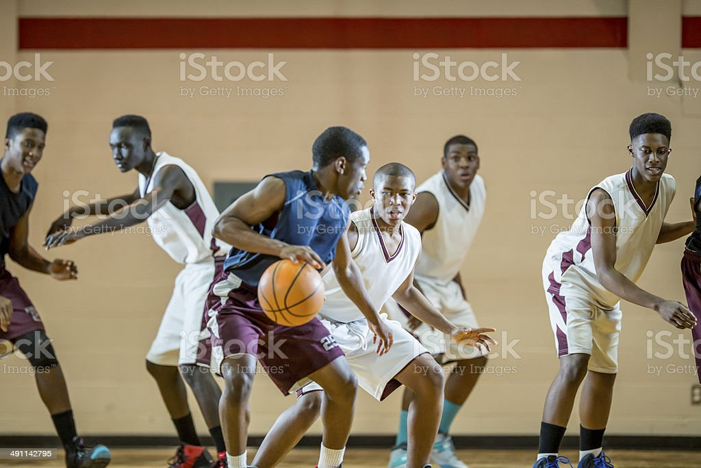 Basketball Game royalty-free stock photo