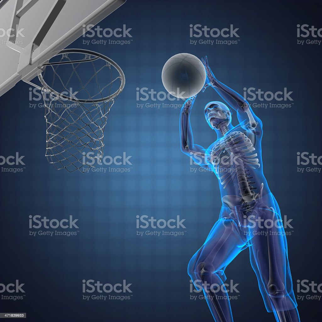 basketball game player royalty-free stock photo