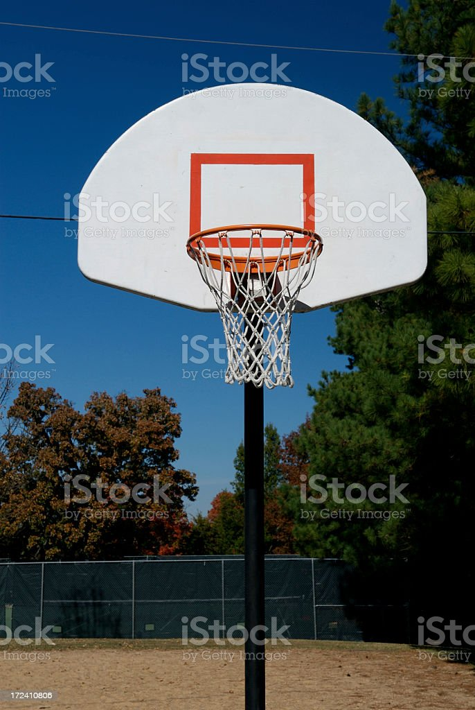 Basketball Goal royalty-free stock photo