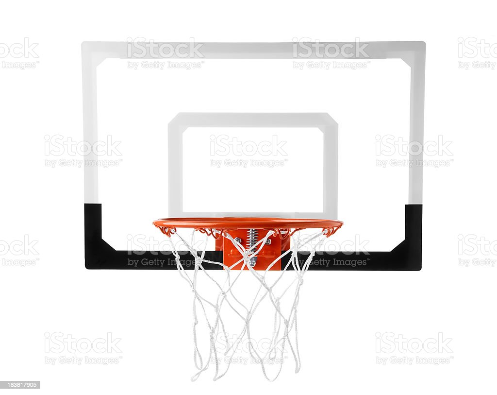 Basketball Goal stock photo