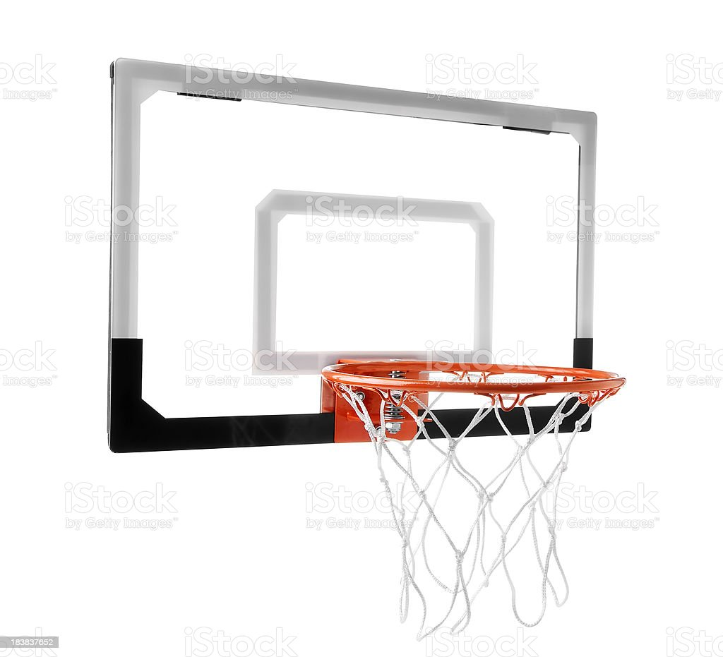 Basketball Goal royalty-free stock photo