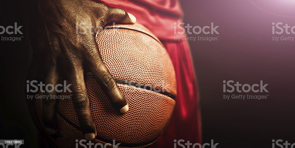 basketball grip stock photo