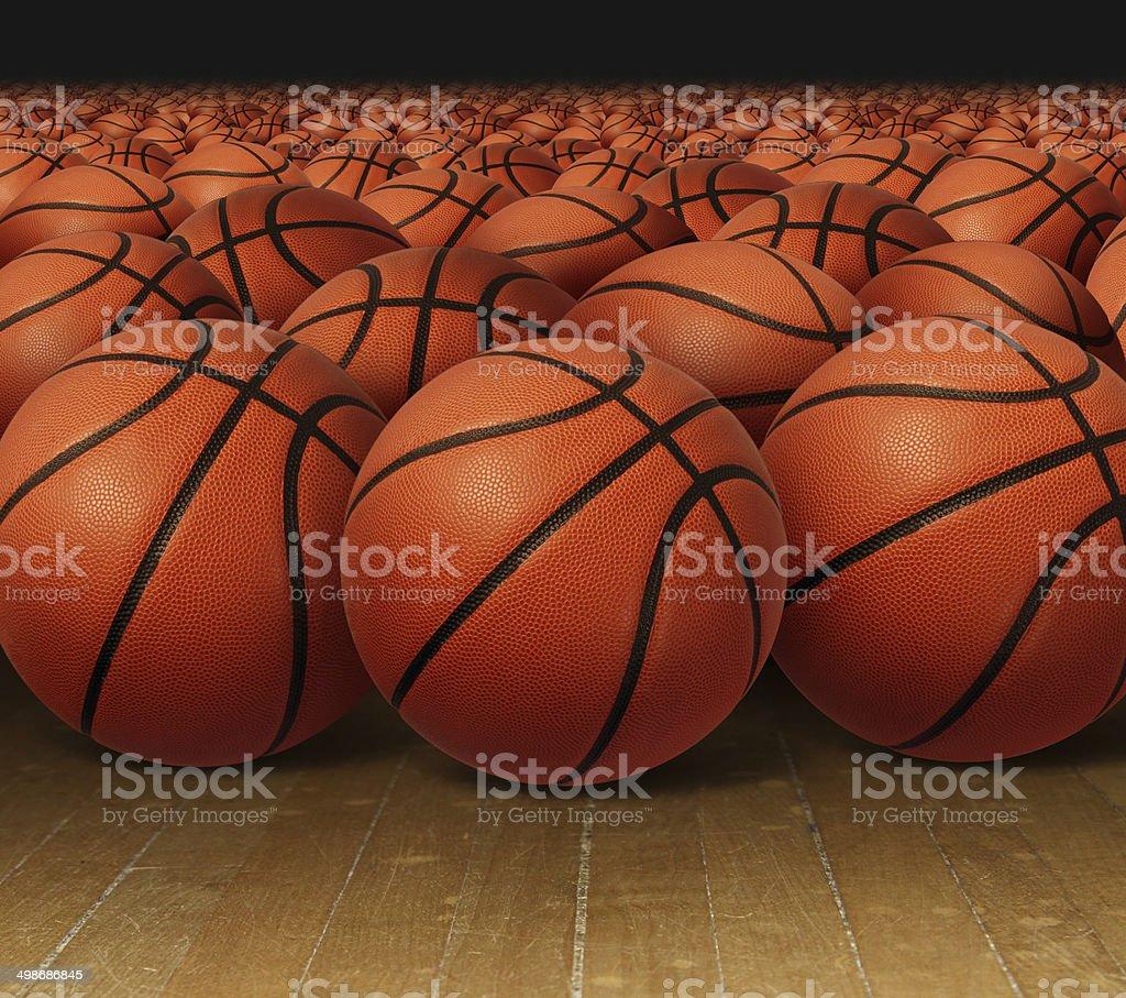 Basketball Group stock photo
