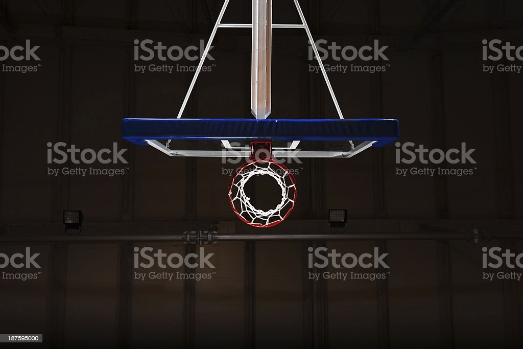 Basketball hoop. royalty-free stock photo