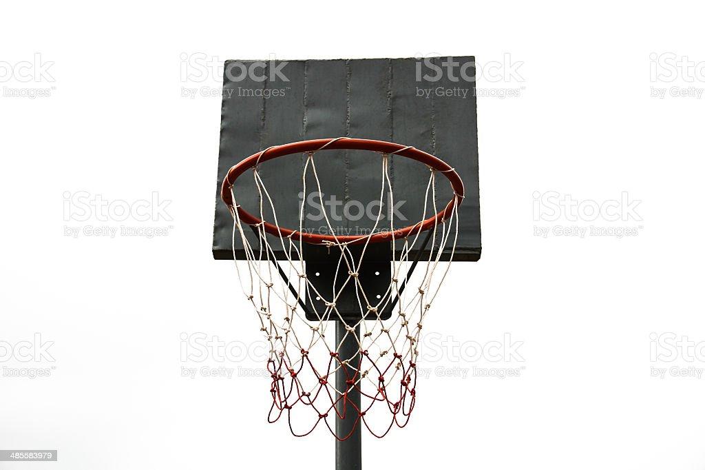 basketball hoop royalty-free stock photo