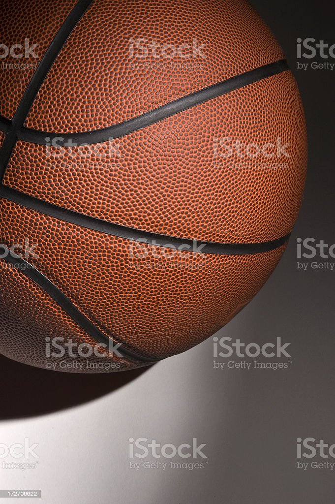 Basketball in Black stock photo