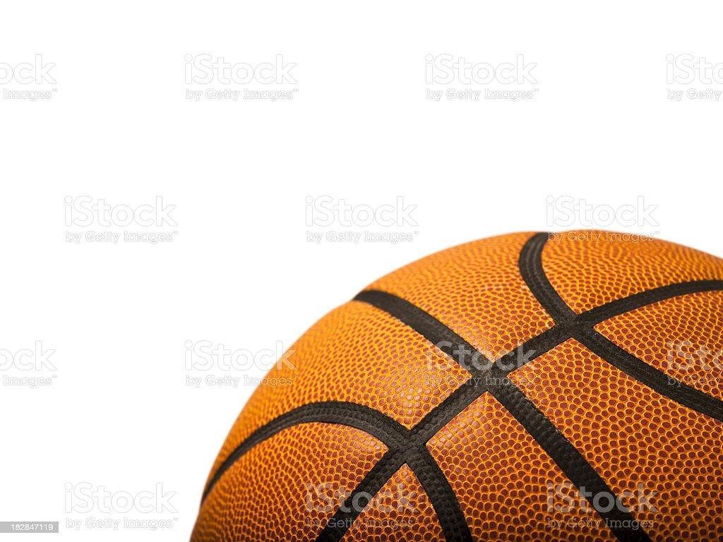 Basketball isolated on white stock photo