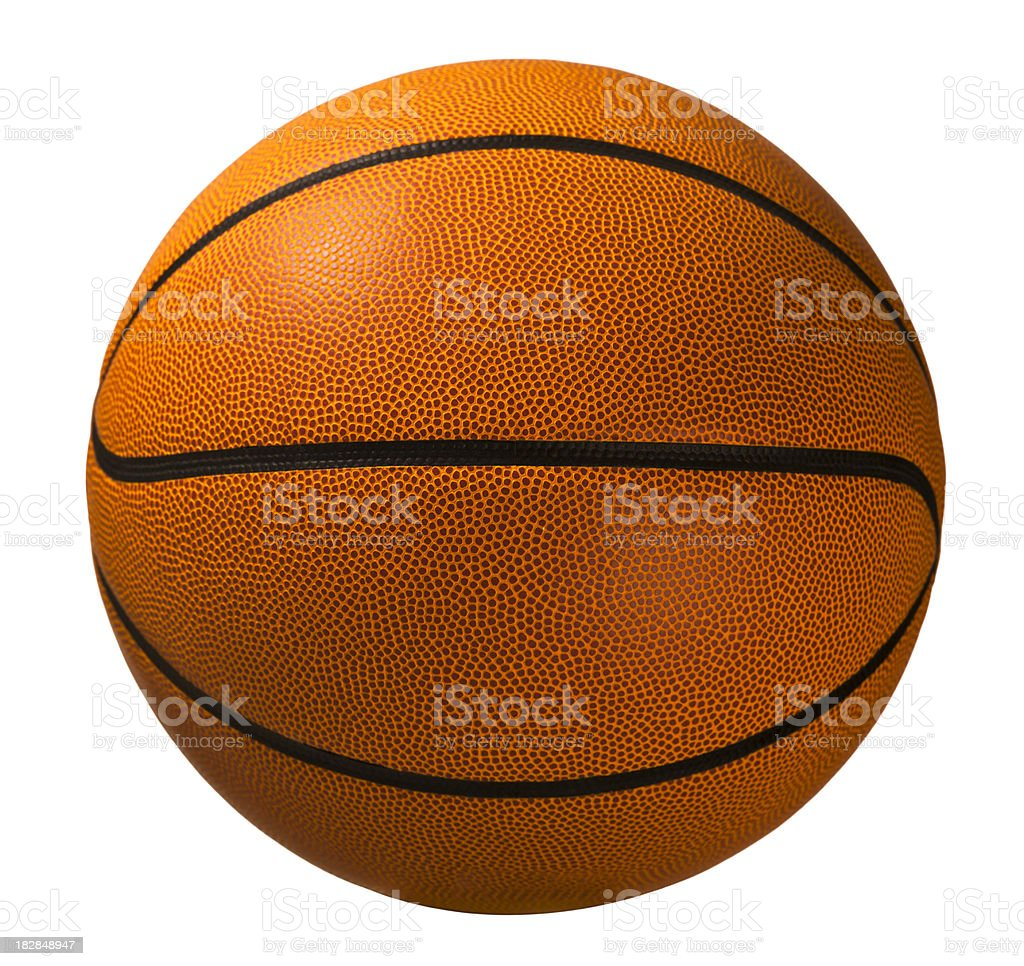 Basketball isolated on white stock photo