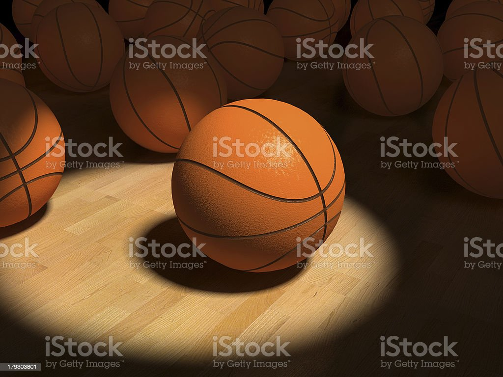 basketball items royalty-free stock photo