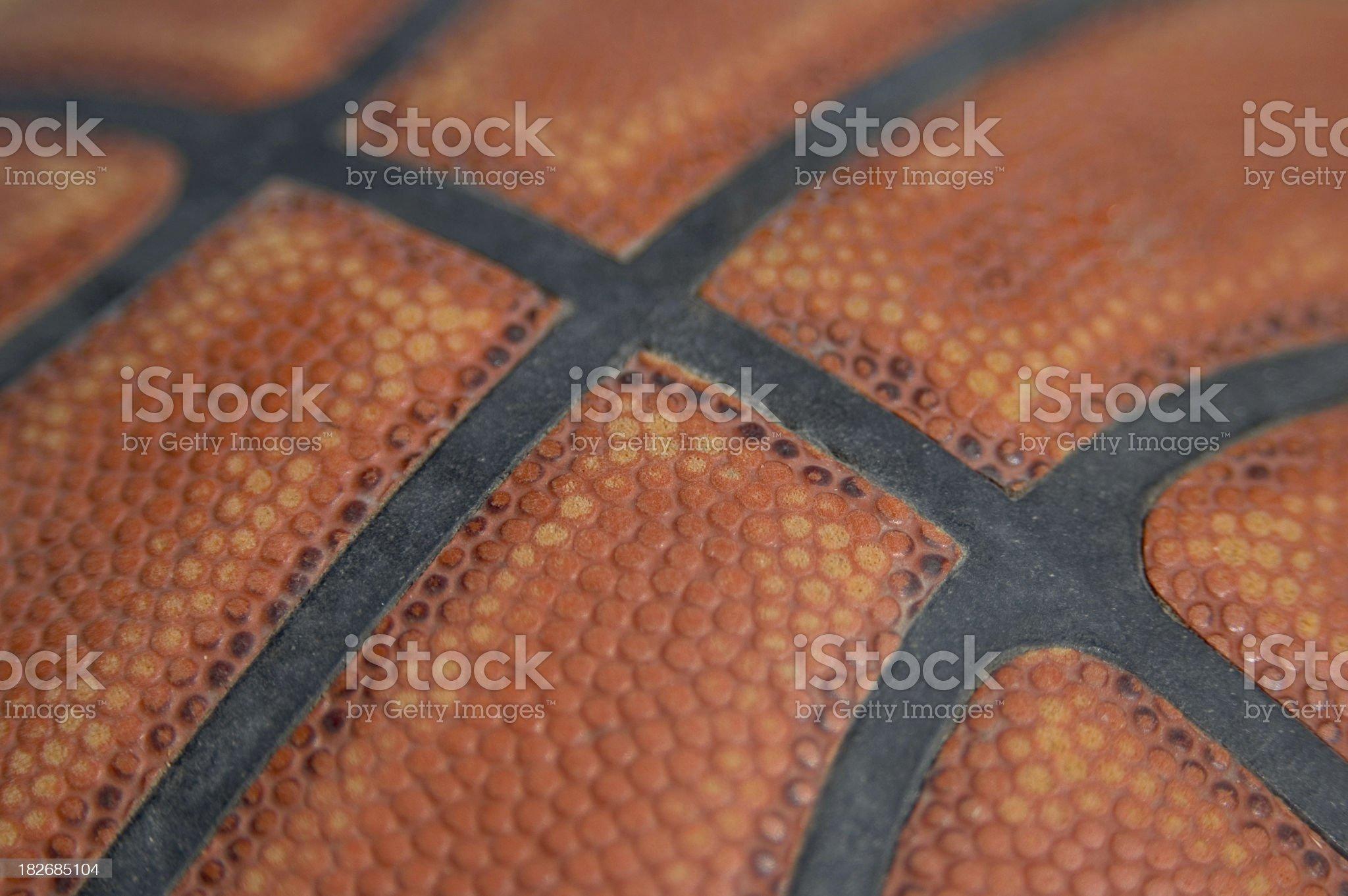 Basketball Macro royalty-free stock photo
