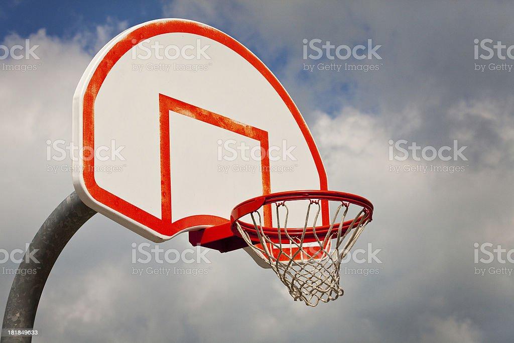 Basketball Net royalty-free stock photo