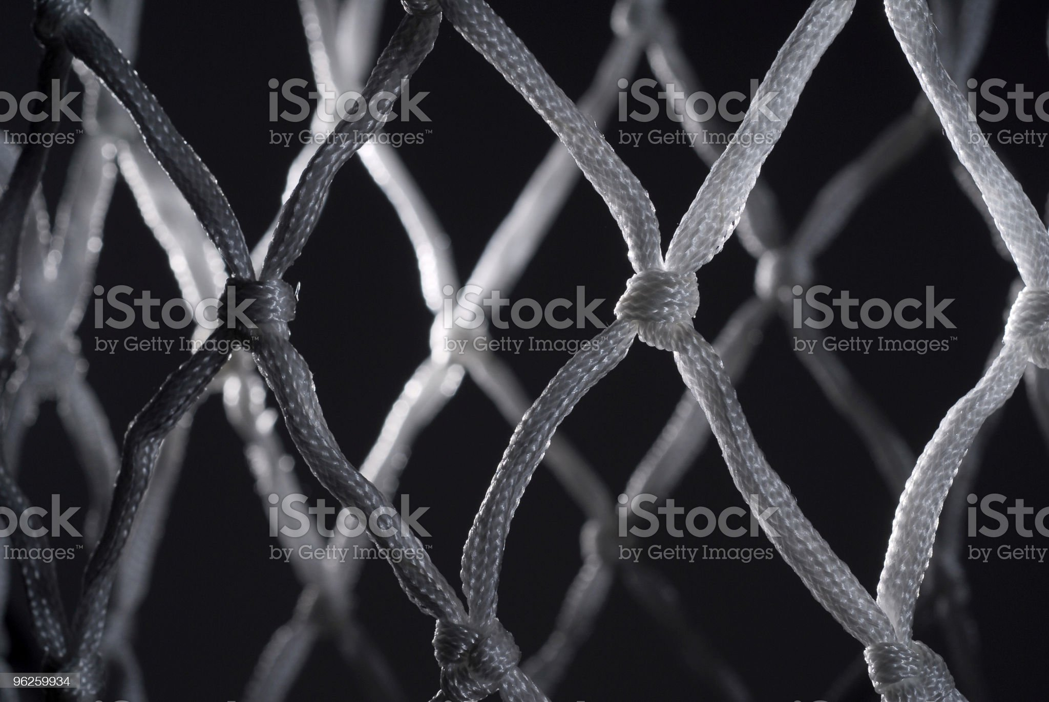 Basketball Net royalty-free stock photo