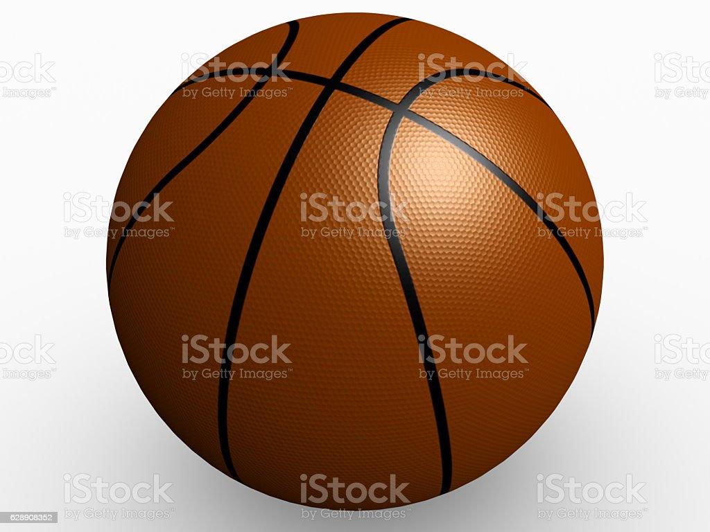 Ball for play basketball. Very high resolution