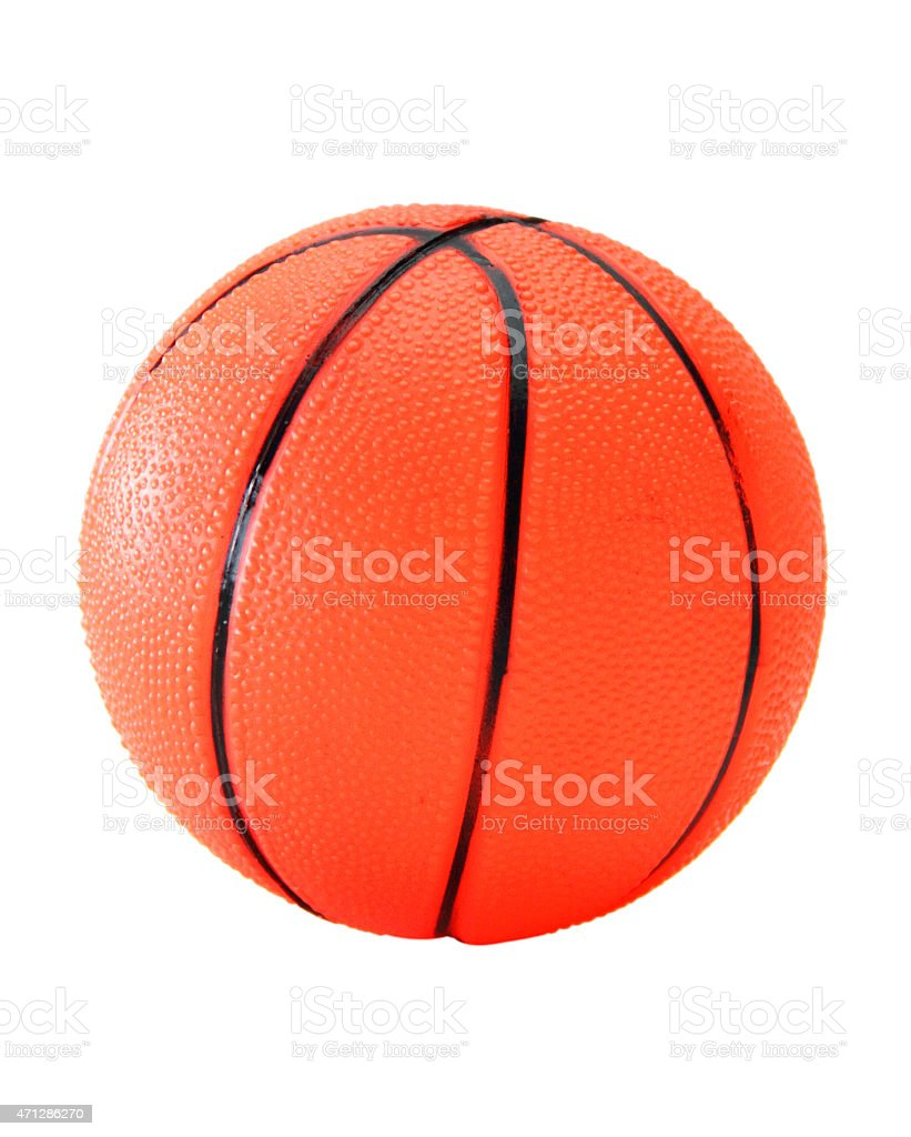 Basketball Plastic royalty-free stock photo