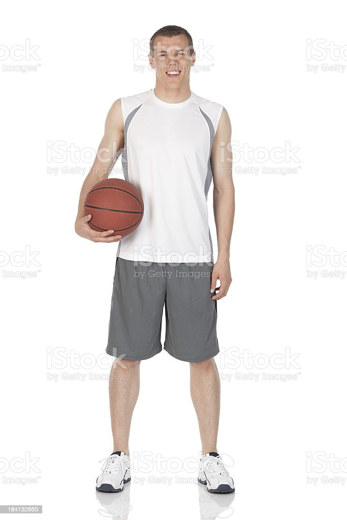Basketball player stock photo