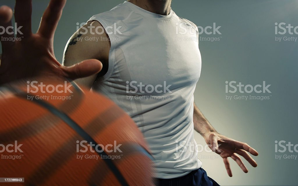 basketball player series royalty-free stock photo