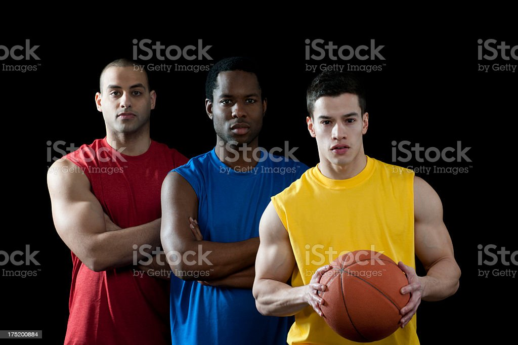 Basketball Players royalty-free stock photo