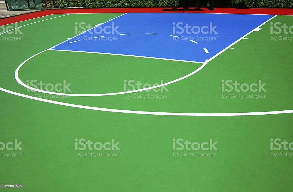 basketball playground abstract royalty-free stock photo