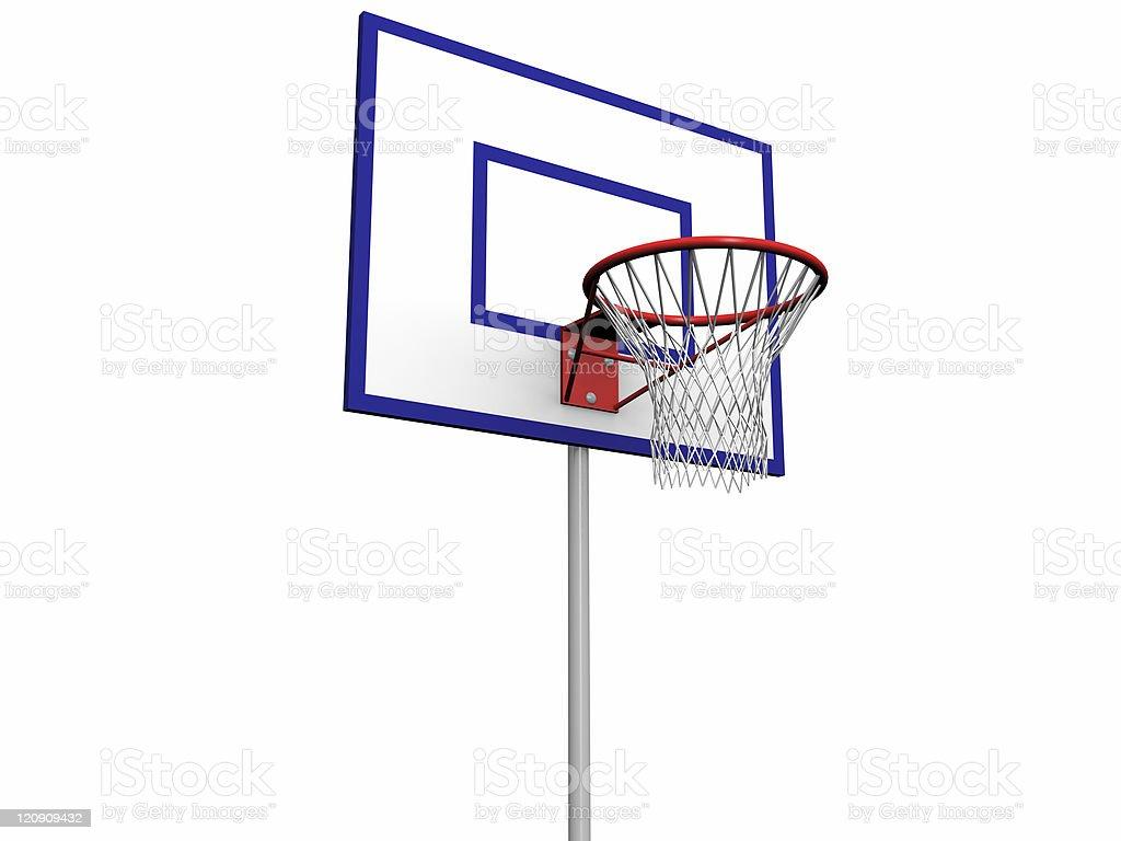 Basketball Pole royalty-free stock photo
