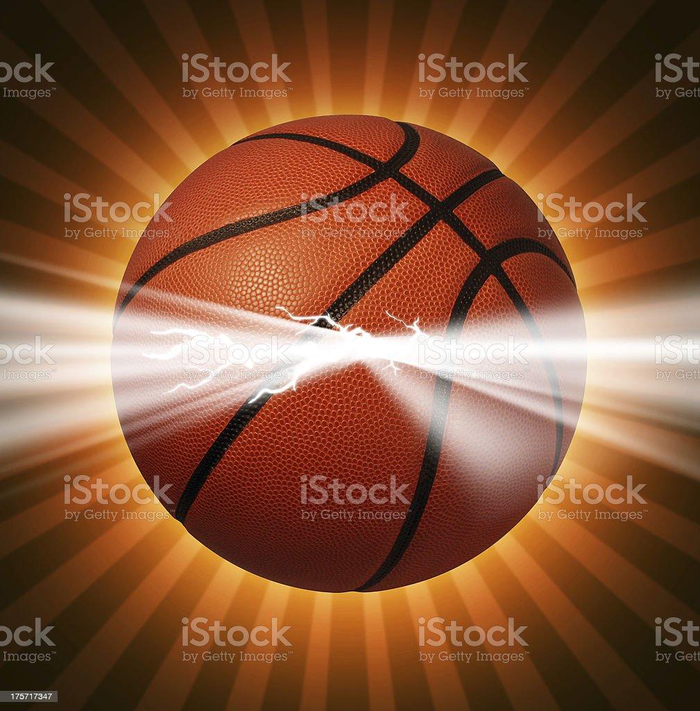 Basketball Power royalty-free stock photo
