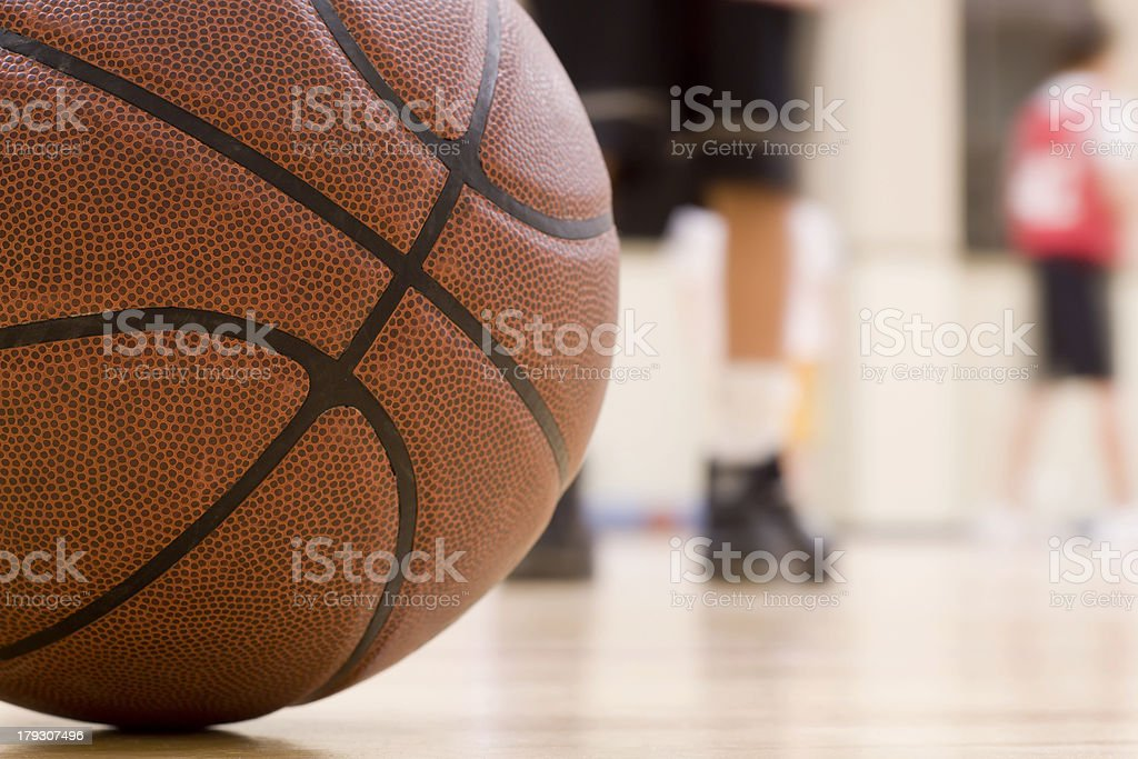 Basketball Practice stock photo