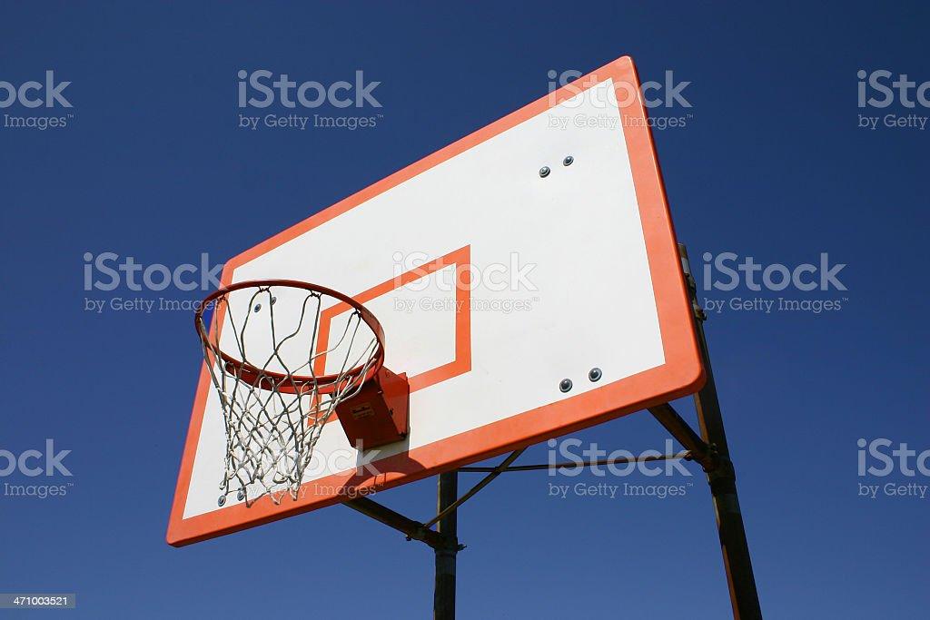 Basketball Rim royalty-free stock photo