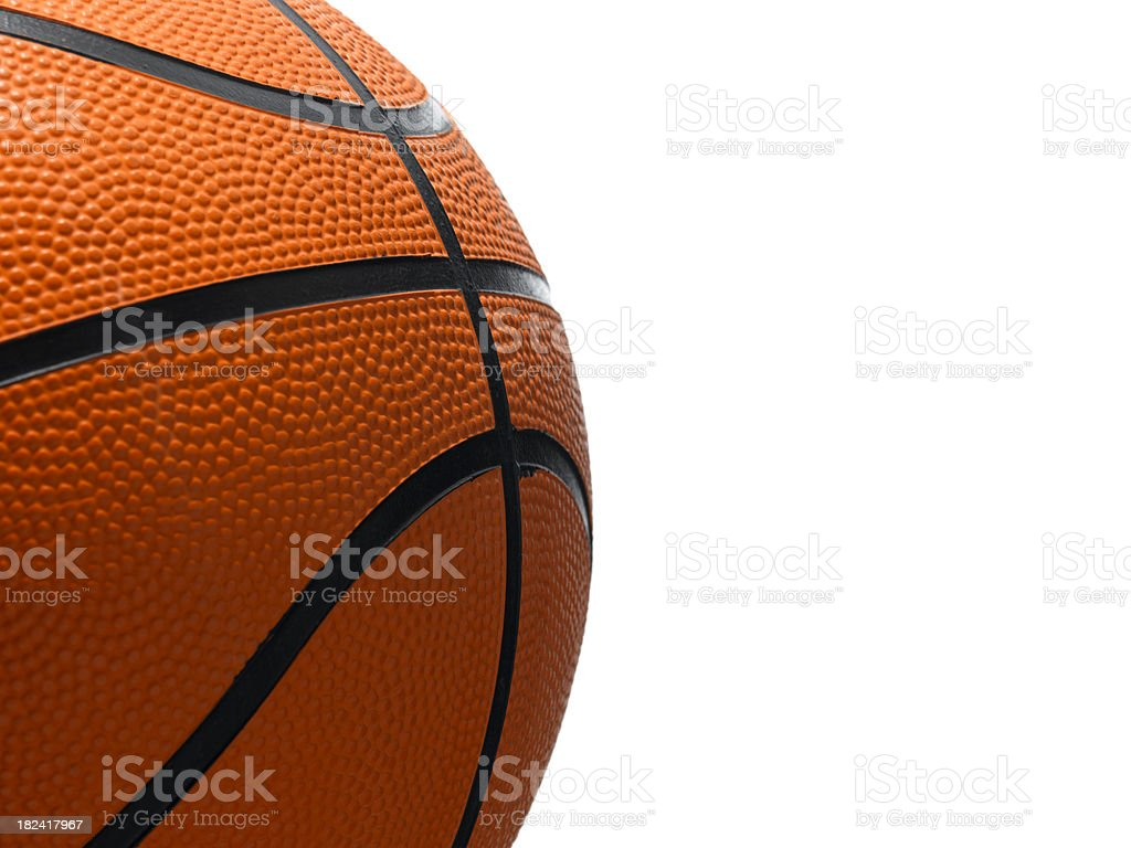 basketball side on royalty-free stock photo