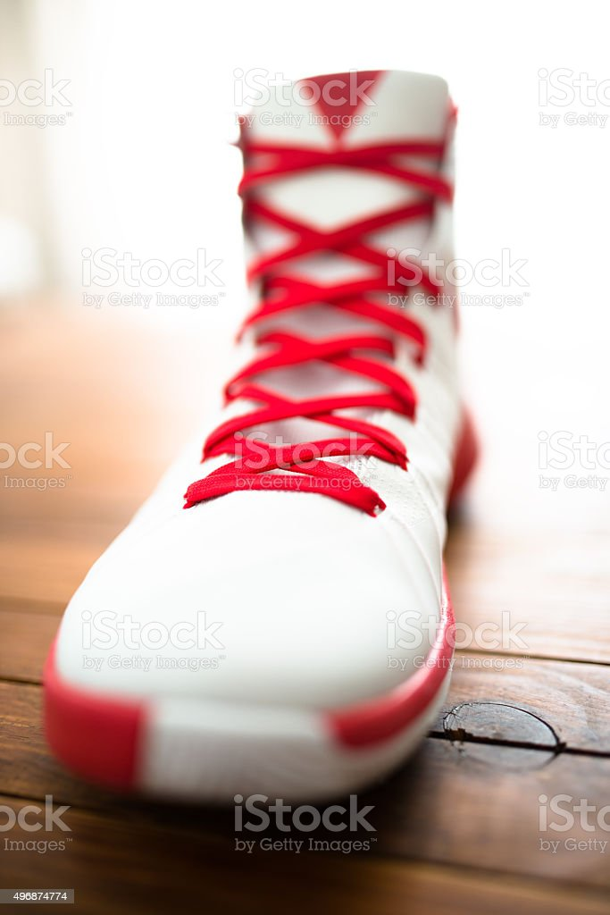 Basketball sport shoes stock photo