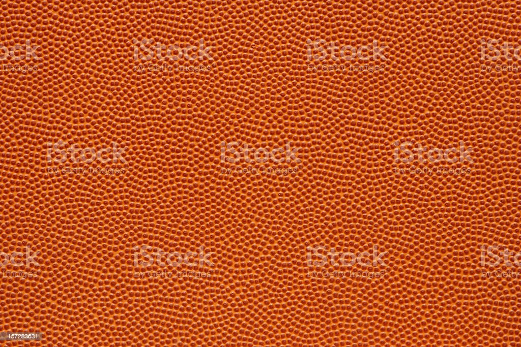 The perfect texture of a basketball, with thousands of little orange...