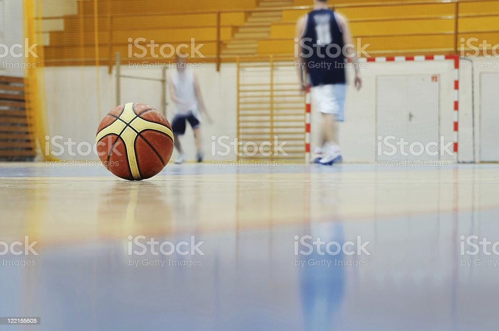Basketball training royalty-free stock photo