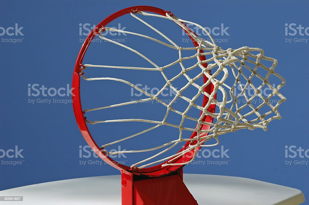 Basketball Viewpoint royalty-free stock photo