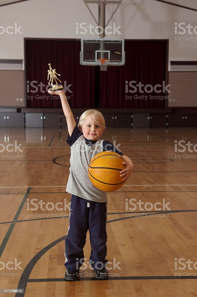 Basketball Winner royalty-free stock photo